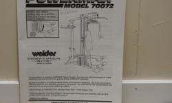 WEIDER POWERMAX MODEL 70072