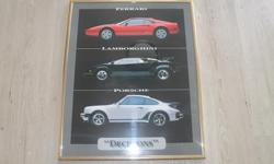 One exotic car frame for sale. The size is 20 inches X 16 inches