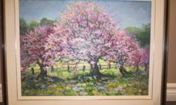 Experimental Farm Painting Local artist from Ottawa - Doris Claremont About 29 inches by 24 inches Call 613-225-4120 $200