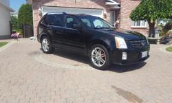 Make Cadillac Colour Black Trans Automatic kms 195000 EXTREMELY RARE / MINT 2007 Cadillac SRX 4 V 2007 Cadillac SRX 4 V 3.8L, V6, Auto Tiptronic, AWD, 7 Passenger With Tow Package. Black On Black Leather, Power 6 Way Lumbar Heated Seats. Wood Grain