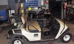EZGO golf cart, 36 volt electric, newer batteries, with canopy and charger phone 519 809 1723 monday to saturday 8 am - 8pm , no sunday calls please