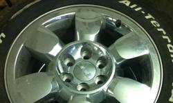 Selling mint set of OEM rims from a 2011 Sierra with 285/55/20 bfg all terrains. 4500 kms. Never seen salt or winter. TPMS installed. Lug nuts included.