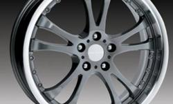 """BRAND NEW STILL IN BOX   Originaly brought rims for BMW, but sold car a few months ago. Retail price of these rims are $240 EACH   Size-- 19"""" Offset-- 38mm Bolt Pattern-- 5/120 Finish-- Gunmetal   Please contact by e-mail or cell number."""