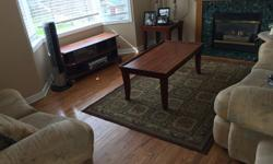Selling our family room set Sofa - 3 seater Love seat Middle table Coffee table Rug OTHER BEDROOM SETS AVAILBLE FOR CHEAP - ALL MUST GO ASAP