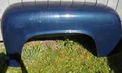 Fenders for Dodge truck 1/2 ton stepside, short box. Like new, few scrapes, never been on vehicle, bought new from dealer. Will sell seperately $250 each or both for $400.00 as listed above. Will fit 1956 dodge  truck and up to not sure possibly  middle
