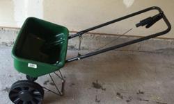 speedy green 1000 spreader / fertilizer