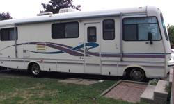 1994 Firan Golden Falcon, 31 ft, A class motorhome 454 motor, e-tested, new tires, crome lined wheels, 3 batteries (2 marine), Propane tank, artic pack for water tank, furnace, air conditioned, fridge/freezer, stove/oven, microwave, built in TV, cd