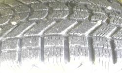 4 firestone winterforce snow tires in as new condition 265-75-15    $400.00