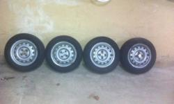 firestone winterforce with rims 175/65R14 14 inch rims came off my honda civic 98 lots rubber left only used one year $250.00 O.B.O if add is up its still for sale check out my other ads
