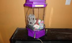 Small Fish tank kit, sand, aerator, ornament,