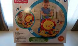 The Fisher-Price Lion Walker is perfect to steady baby's 1st steps while exploring the new world of walking! A sturdy, lion character themed walker featuring two modes of play: Sit & Play and Stand & Walk. Sit & Play mode features lots of busy activities