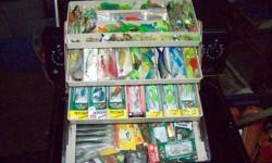200 teaser and strip heads. 1000 hoochies.500 spoons to choose from.jigging lures and much more. also have lots of wieghts