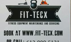 Service Visit Fit-Tecx.com if you are looking at having your Treadmill ,Elliptical unit or Fitness training station serviced. Fit-tecx.com will come right to your home and diagnose any equipment problems or take care of your investment by doing a thorough