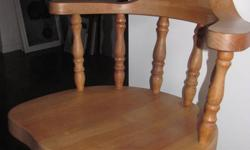 ****REDUCED*****Paid $1000.00 for set, do not need anymore. Four Captain style chairs and one regular.  In excellent condition!