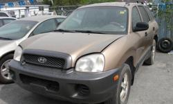 Make Hyundai Trans Automatic kms 230000 - 2003 HYUNDAI SANTA FE: RUN & DRIVE, NEWER TIRES & BRAKES, EXHAUST LEAK, DENTED REAR DOOR. $700. MORE CLEAROUT FIXER UPPER / BEATERS SPECIAL TO CHOOSE ALSO IN STORAGE VARIETY OF LIGHTLY USED TIRES & RIMS, ALLSEASON