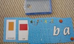 Flash Cards - Learn the Alphabet Flash cards will make learning easier for your child. Kids like learning with these and they often use them for play or other projects and activities. Some cards may have bend marks. Located in Barrhaven.