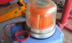 Flashing emergency Strobe Light. Heavy Duty. Made by Star Headlight + Lantern Co. Mod. No. 200A . Works good. $ 57. Call 622-0167.