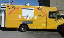 Make Ford Model E-350 Colour Yellow Trans Automatic kms 254000 Food Truck 2000 E350 Cargo Van brand new TSS certified ESA certified 2 deep fryers 1 24 inch grill 2 100 propane tanks 1 fridge 1 freezer 7 foot exhaust hood 30 amp electrical panel 3 sinks