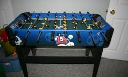 Fooseball Table for sale $75 Must pick it up.