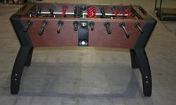 Heavy duty foosball table    Still in box,  requires some light assembly.  Sells in stores for over $350 Going fast only 8 left.  Great for Christmas.
