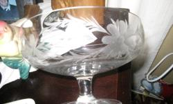 Cornflower pattern  vintage footed bowl..as seen in picture