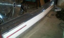 For Sale 1990 Cadillac Rear Bumper -excellent shape