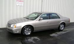 Make Cadillac Colour Gold Trans Automatic kms 191000 FOR SALE: 2002 Cadillac Deville FWD Fully Loaded (902) 437-2526 191,000 KMS 4.6 L 32 valve NorthStar engine $2400.00 Average market price: $5271.00 PW; PS; PB; PL; AC; Power remote truck; Power mirrors;