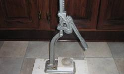 For Sale old Fashion Beer/Wine Capper in Excellent Condition,asking $20.00.Phone 709-586-2312 or cell 709-727-2317.