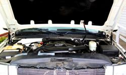 Make Cadillac Model Escalade Colour White Trans Automatic kms 175644 Engine Type 16-valve pushrod overhead valve V8 Engine Size 6.0 liters / 366 cu. in. Horsepower 345 @ 5200 rpm Torque (lb-ft) 380 @ 4000 rpm Transmission 4-speed