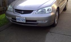 Make Acura Model EL Year 2001 Colour GOLD kms 300000 Trans Automatic Great condition 4dr Acura, automatic, air cond, Sold AS IS