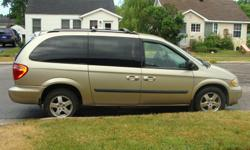 Make Dodge Model Grand Caravan Year 2006 Colour gold kms 85 Trans Automatic With Mechanical asking 6,800 OBO 3.3l V6 engine Low Mileage < 85,200 KMs Linen Gold Metallic Pearl Coat Remote Start DVD with remote Stow-N-Go 2nd row bucket seats ( 7 Seats )