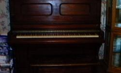 """For Sale - Older Anique """"Dominion"""" Piano made from Bowmaville Ont. Also a Older Stero and record player """"Electrahome""""   Serious inquiries Only Call Gary @ 613-342-82222"""