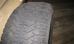 FOR SALE:   Winter Tires   215-60-15   (Used only two seasons)   $200 OBO   Call Steve - 416-460-2579