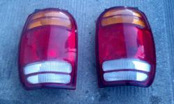 These tail lights are in perfect condition and they came on a 98 ford explorer if you are interested please call me at 5878942926 thanks danny