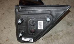 Ford F150 4 door pickup drivers side power mirror with lights.