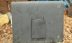 1- fibreglass hood with hood scoop, fits older ford ranger, bronco. asking 40.00. email or call 705-789-9351
