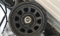 """American racing steel rims 16"""" 5 bolt metric style. Will fit 97-03 Ford F-150 $80 obo Call or text"""