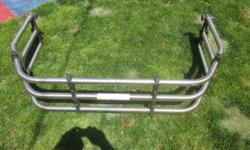 Make Ford Model F-150 Year 2005 Colour STAINLESS This is a stainless steel tailgate bed extender bought from Ford was on a 2005 - F250 excellent cond. It fits other years as well- find out if it fits yours. $75 call Ken 705-759-7581
