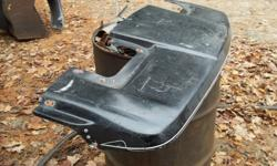 1- fibreglass sunvisor, fits older ford ranger and bronco. asking 30.00. email or call 705-789-9351