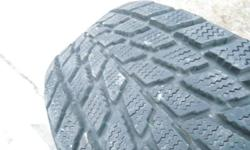 16 inch Toyo Observe G02 Plus Winter / Snow Tires 215 / 60 R15 ----- Around 90% tread remaining NO RIMS = NO RIMS = NO RIMS Excellent condition... No Cuts / Leaks / Sidewall Damage / Uneven Wear !!! Perfect for wet / dry / snow / slush / black ice