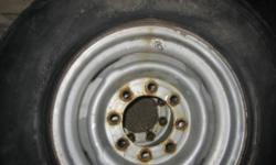 """Selling 4 original FORD steel rims off a 80's Ford Econoline van with a heavy duty 8-bolt rear (i think the bolt pattern is 8x6.5 ),  it should fit many other years and models that use the 8 bolt patten TWO Rims are engraved 16.5x6.75"""" and TWO are 16x6 K."""