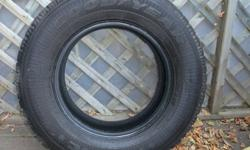 "Four P215/70R15 Good Year Nordic Winter Tires for Sale. Tires are in ""like new"" condition! They were used for less than one winter season."