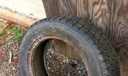 I have four winter tires size 175/65R14 two of them are BF Goodrich tires and have been used for only two seasons, the other two are Nexen Winguards which have only been used for one season. The Nexens are mounted on rims but one of the rims is cracked so
