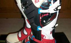 Fox F3 Motorcross Boots, Size 12, in very good condistion, used only one season for  personal riding, not racing. Boots retailed for $400+