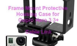 Versatile Standard Frame Mount Protective Housing Case for GoPro HD Hero 3 3+ -Sleek lightweight frame design for low profile, compact mounting. -Engineered for optimal sound at speed -only fit Gopro hero 3 or 3+ camera Package Included: 1pc standard
