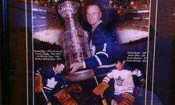 Looking to trade a framed autographed Johnny Bower photo. This ad was posted with the Kijiji Classifieds app.