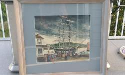 For sale is a framed print by H. Gilbert Foote. Great condition. Make us an offer!