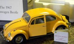 1967 Volkswagen Beetle  Franklin Mint Precision Model 1/24  scale Certificate of Authenticity Complete original packaging Mint condition 50$ Located in Port Dover
