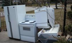 Free evening & weekend pickup of old/unwanted/scrap appliances and other metals in st.cath/thrld and surrounding area. Rich 905 329 6768 /Grimsby Beamsville on mon/tues evenings