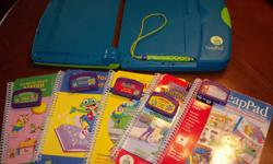 We have 4 french books and one English book with cassettes. Works very well. Very educational.